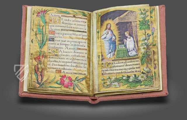 The lost prayer book of the French king's daughter