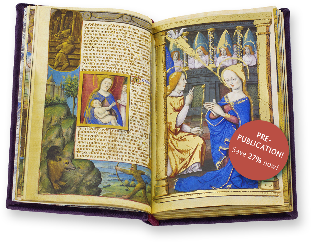 The Book of Hours of the Dauphin of France is a brilliantly executed illuminated manuscript, which was produced in the Bourges atelier of the father-son team of Jean and Jacquelin de Montluçon ca. 1500.