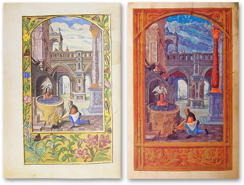 Splendor Solis, Germany — 1440 (left) and Splendor Solis — Sonnenglanz, Probably Nuremberg (Germany) — 1531/32 (right)