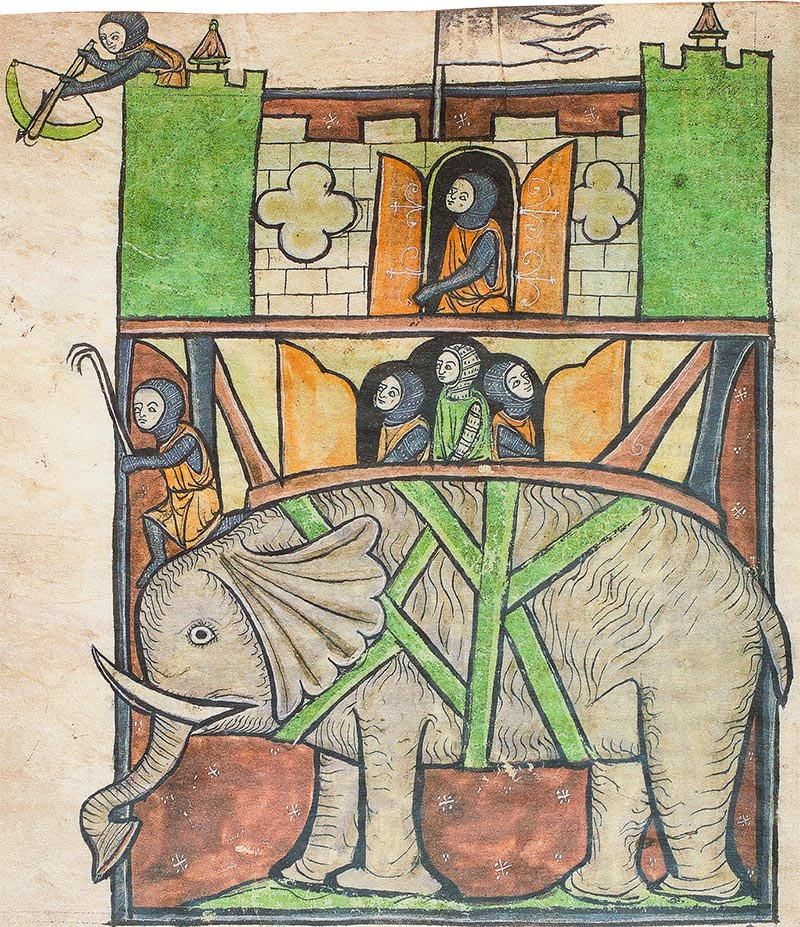 Westminster Abbey Bestiary, York, England — ca. 1275-1290